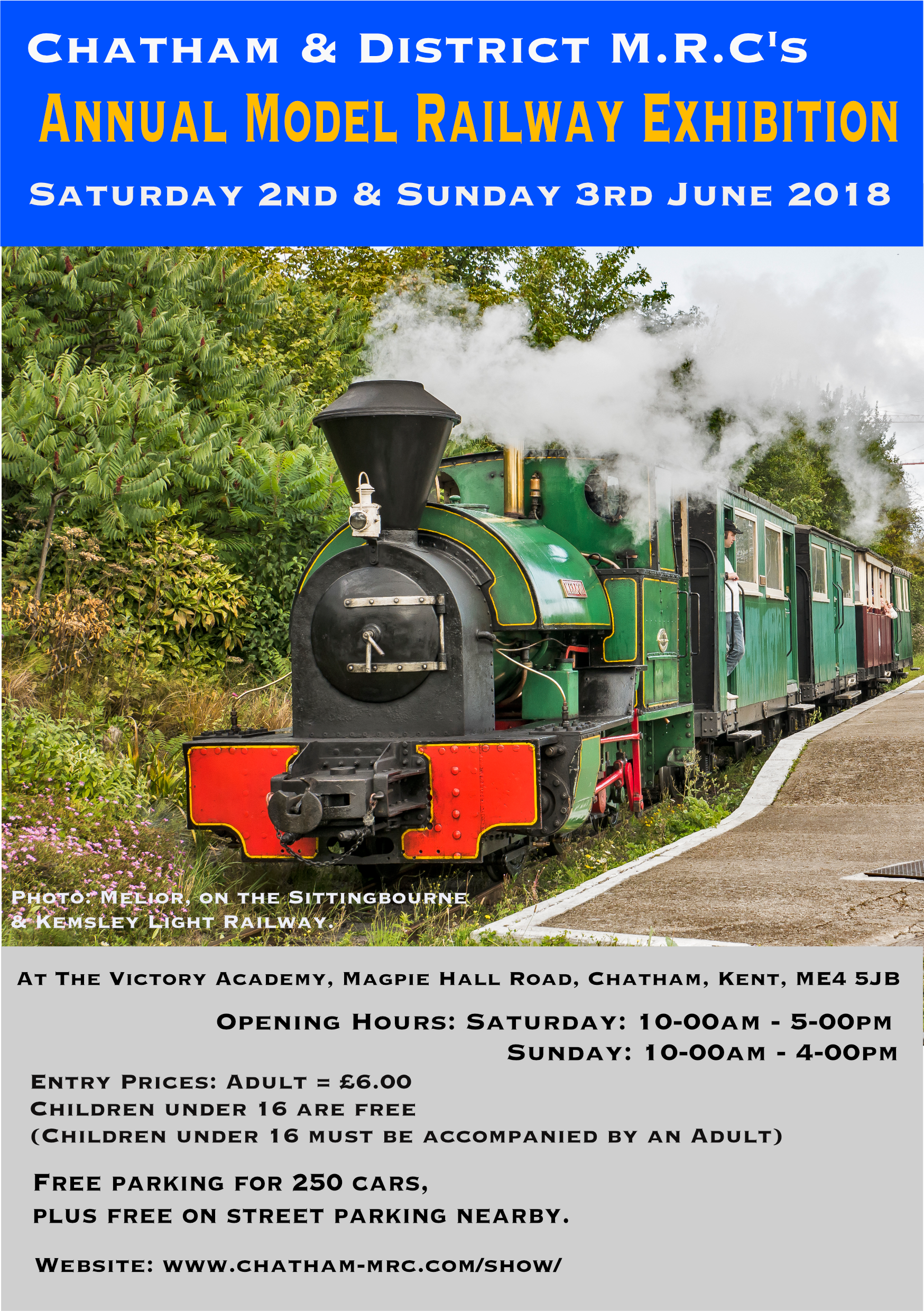 Chatham Show 2018 Advertisement Flyer