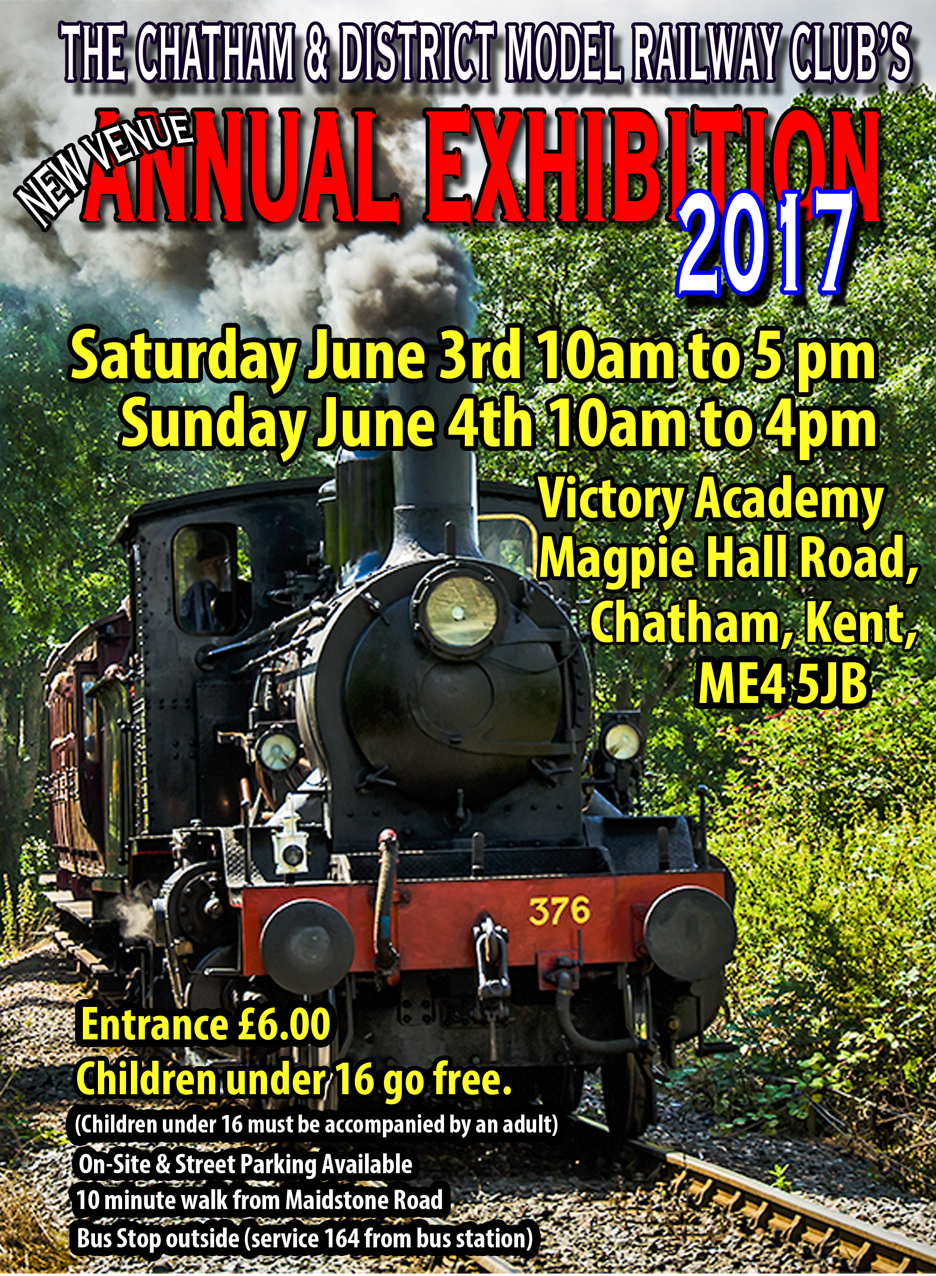 Chatham Show 2017 Advertisement Flyer